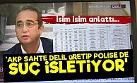 'AKP Sahte Delil Üretip Polise de Suç İşletiyor'