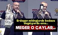 Erdoğan'ın Dağıttığı Çaylarda 'Pes' Dedirten Detay!