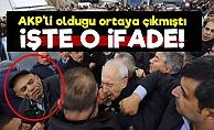 İşte AKP'li Saldırganın İlk İfadesi!