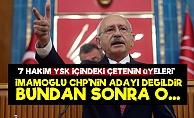 'İmamoğlu Artık CHP'nin Adayı Değildir O...'