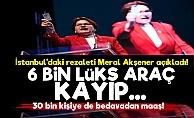 'İstanbul'da 6 Bin Lüks Araç Kayıp...'