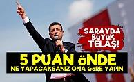 Sarayda '5 PUAN' Telaşı!..
