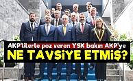 YSK'dan AKP'ye Olay Tavsiye!..