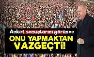 Erdoğan O Planından Vazgeçti!