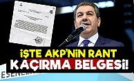 İşte İstanbul'dan Rant Kaçırmanın Belgesi!