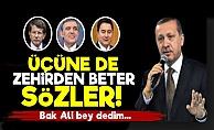 AKP'de Savaş Başladı! Erdoğan'dan Zehir Gibi Sözler