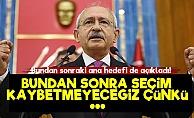Kılıçdaroğlu: Bundan Sonra Ana Hedefimiz...
