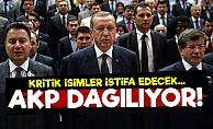 AKP Dağılıyor! İstifalar Başlıyor...