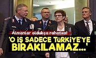 Almanya: O İş Sadece Türkiye'ye Bırakılamaz