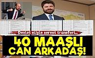 Bilal Erdoğan'ın 40 Maaşlı Can Arkadaşı!