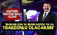 AKP'li Yılmaz Makam Kriterlerini Açıkladı!