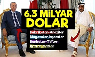 Türkiye-Katar Aşkı; 6.3 Milyar Dolar...