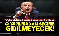 Erdoğan'dan Yeni Talimat!