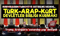 İdlib-Suriyeliler-Türk-Arap-Kürt Devletler Birliği!