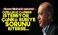 'Erdoğan Suriye Sorununu Özellikle Çözmek İstemiyor'