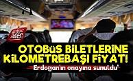 Otobüs Biletlerine KM Başı Fiyat Geliyor!