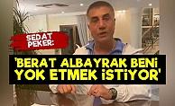 Sedat Peker: Berat Albayrak Beni Yok Etmek İstiyor