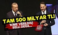 TVF'de Şok! '500 Milyar TL Kime Verildi?'