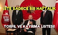 İşte AKP'nin Sadece Bir Haftalık Kayırma Listesi!