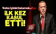 Erdoğan İlk Kez Kabul Etti!