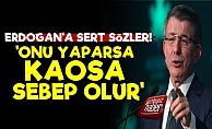 Davutoğlu'ndan Erdoğan'a Sert Sözler!
