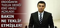AKP'NİN TEKLİFİNİ AÇIKLADI...