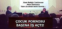 BİR DE 'AHLAK' DERSİ VERMİŞ...