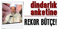 DİNDARLIK ANKETİNE 550 BİN LİRA!