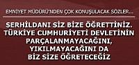 EMNİYET MÜDÜRÜ'NDEN 'OLAY' SÖZLER!