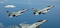 F-16'LAR SINIRA GÖNDERİLDİ...