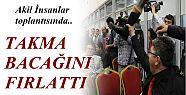 GAZİ TAKMA BACAĞINI FIRLATTI!