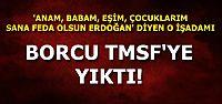GELİRLER KENDİSİNE GİDERLER TMSF'YE...