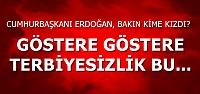 GÖSTERE, GÖSTERE TERBİYESİZLİK BU...