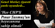 CHP BAYRAKLI'DA GÜNDEM; PINAR SUSMUŞ...