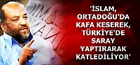 'İSLAM BU ŞEKİLDE KATLEDİLİYOR'