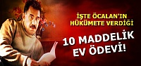 İŞTE 10 MADDELİK EV ÖDEVİ