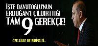 İŞTE ERDOĞAN'I ÇILDIRTAN GEREKÇELER...