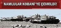 KOBANİ'YE IŞİD BAYRAĞI ASILDI!