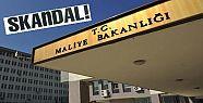 MALİYE'DE SKANDAL