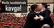 MECLİS TUVALETİNDE KAVGA!