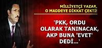 O MADDEYİ DE KABUL ETTİLER...