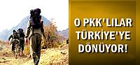 O PKK'LILAR TÜRKİYE'YE DÖNÜYOR!