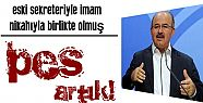 PES! ESKİ SEKRETERİYLE BİRLİKTE OLMUŞ..
