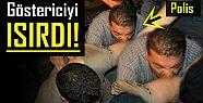 PES! POLİS GÖSTERİCİYİ ISIRDI!