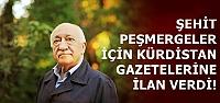 PEŞMERGE İÇİN İLAN VERDİ!