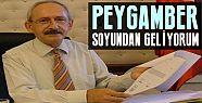 'PEYGAMBER SOYUNDAN GELİYORUM'