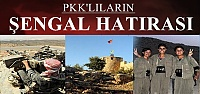 PKK'LILARIN ŞENGAL HATIRASI...