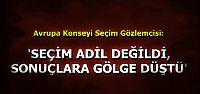 'SEÇİM ADİL DEĞİLDİ...'