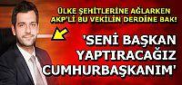 ŞEHİTLER, ACILAR UMURLARINDA DEĞİL!