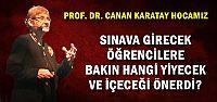 SINAVA GİRECEK ÖĞRENCİLER DİKKAT!